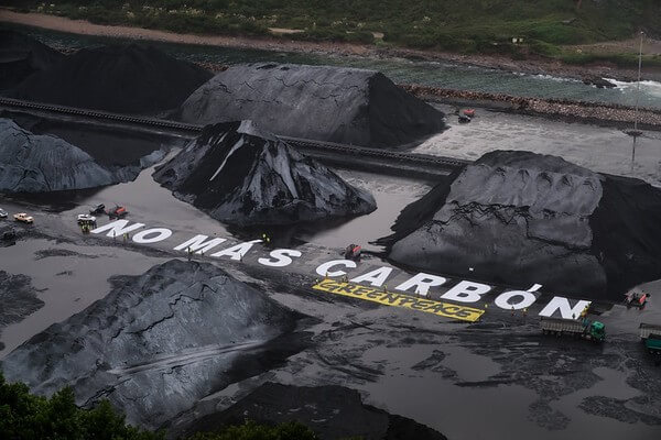 greenpeace no mas carbon